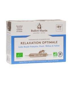 Relaxation optimale préparation dynamisée  BIO, 10ampoules