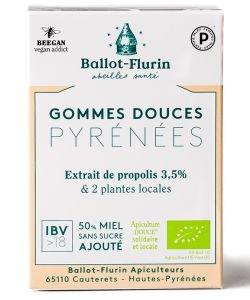 Gommes douces Pyrénées à la Propolis