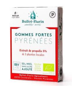 Gommes protectrices des Pyrénées BIO, 30g