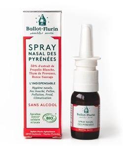 Spray nasal des Pyrénées sans alcool