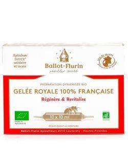 Préparation Dynamisée à la Gelée Royale Française BIO, 10ampoules