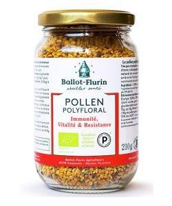 Pollen Polyfloral Dynamisé BIO, 210g