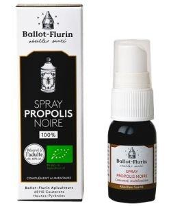 Spray Propolis Noire française BIO, 15ml