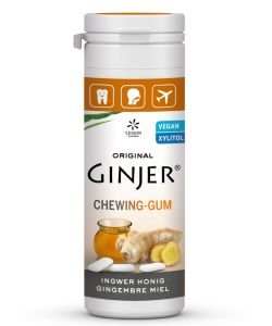 Chewing-gums Ginjer - Honey, 30g