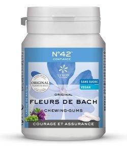 """Chewing-gums """"Courage et assurance"""" (confiance en soi), Dr Bach"""