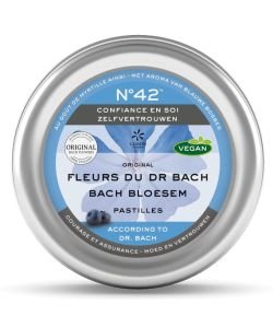 Pastilles n°42 - Confiance en soi - Dr Bach, 50g