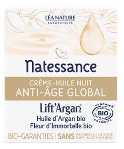 Anti-Aging Global - Night Oil Cream BIO, 50ml