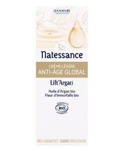 Anti-âge Global - Crème légère BIO, 50ml