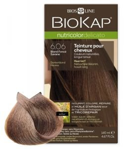 Nutricolor Delicato 6.06 Blond Foncé Savane, 140ml