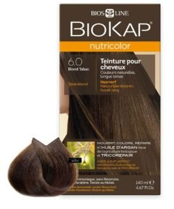 Nutricolor 6.0 Blond Tabac - emballage abîmé, 140ml