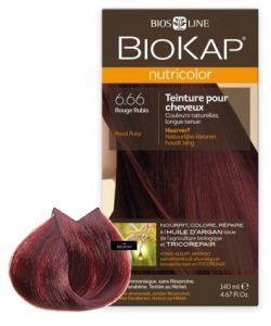Nutricolor 6.66 Rouge Rubis, 140 ml