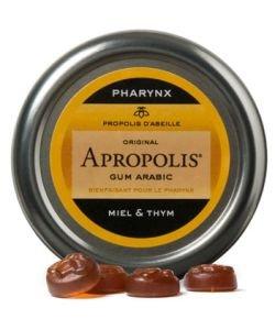 """Pastilles """"Gum Arabic"""" propolis-miel - thym, 40g"""