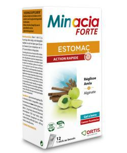 Minacia Forte gel, 12sticks