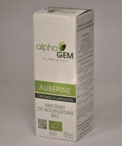 Aubépine (Crataegus laevigata) bourgeon - Emballage abîmé BIO, 50ml