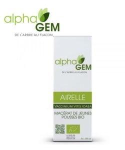 Airelle (Vaccinium vitis idaea) bourgeon BIO, 50ml