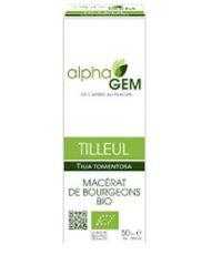 Tilleul (Tilia tomentosa) bourgeon unitaire