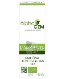 Marronnier (Aesculus hippocastanum) bourgeon BIO, 50ml