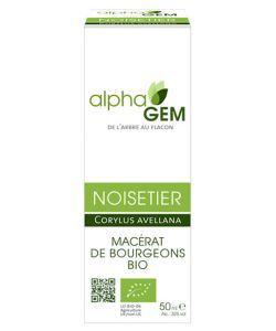 Noisetier (Corylus avellana) bourgeon unitaire - emballage abîmé BIO, 50ml