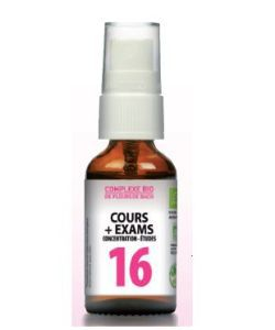 N°16 Cours + Exams BIO, 20ml