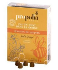 Gommes de propolis miel-orange