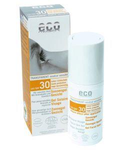 Gel solaire visage neutre - SPF 30 BIO, 30ml
