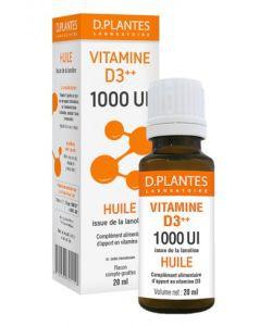 Vitamine D3++ 1000 UI Huile, 20ml