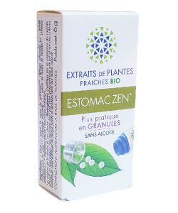 Complexe Estomac zen - Extraits de plantes fraîches BIO, 130granules