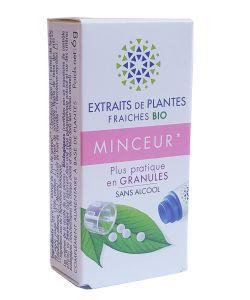 Complexe Minceur - Extraits de plantes fraîches BIO, 130granules
