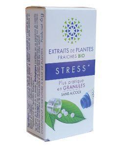 Complexe Stress - Extraits de plantes fraîches BIO, 130granules
