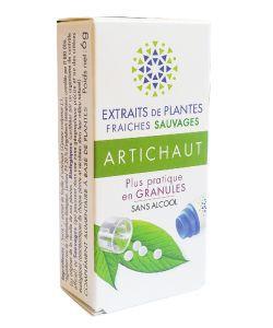Artichaut - Extrait de plante fraîche BIO, 130granules