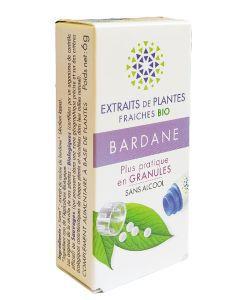 Bardane - Extrait de plante fraîche BIO, 130granules
