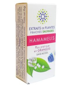 Hamamelis - Extrait de plante fraîche BIO, 130granules
