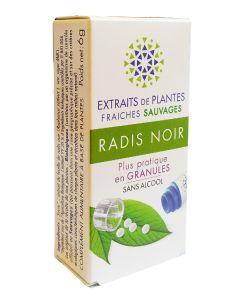 Radis noir - Extrait de plante fraîche BIO, 130granules