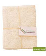 Recharge 5 carrés bébé lavables  - Coton bio biface