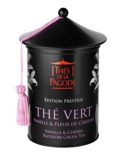 Thé vert Vanille & fleur de cerisier - Edition Prestige BIO, 100g