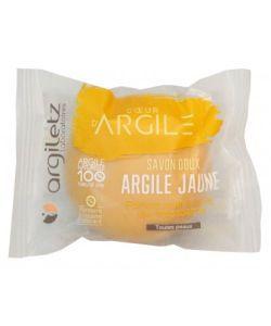 Savon doux Argile jaune & parfum miel BIO, 100g