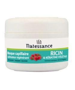 Masque capillaire sublimateur régénérant Ricin et Kératine végétale, 200ml