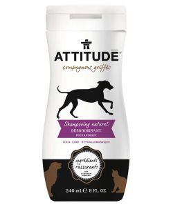 Shampooing naturel d sodorisant pour animaux attitude 240 ml - Desodorisant naturel pour maison ...