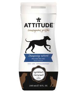 Shampooing naturel Pelage Blanc pour animaux, 240ml