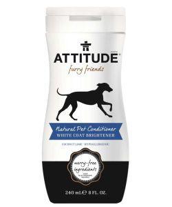 Après-shampooing Pelage blanc pour animaux, 240ml