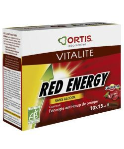 Red Energy Alcohol Free DLUO 09/2019 BIO, 10flasks