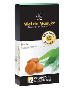 Pastilles Miel de Manuka IAA10+ et eucalyptus, 20g