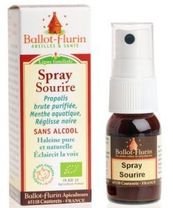 Spray Sourire BIO, 15 ml