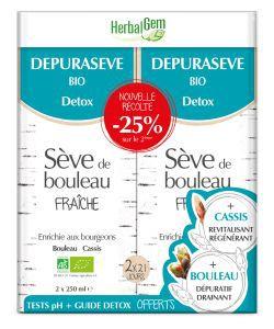 Dépurasève Duo - Nouvelle récolte BIO, 500ml