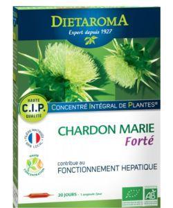 C.I.P Chardon Marie Haute concentration BIO, 20ampoules