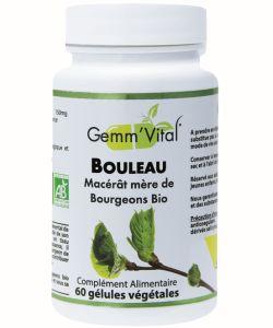 Bourgeons de bouleau - Sans alcool BIO, 60gélules