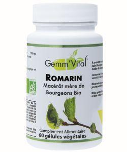 Bourgeons de romarin - Sans alcool BIO, 60gélules