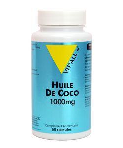 Huile de Coco 1000 mg, 60capsules