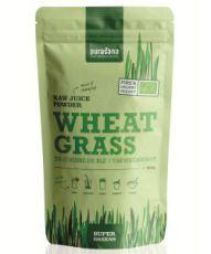 Poudre de jus d'herbe de blé