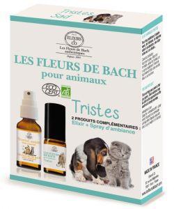 Duo fleurs de bach animaux tristes elixirs co 10 for Alimentation maison pour chien